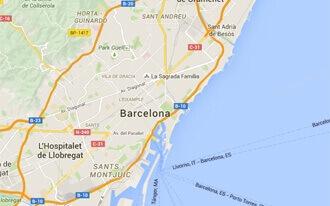 ברצלונה מפה
