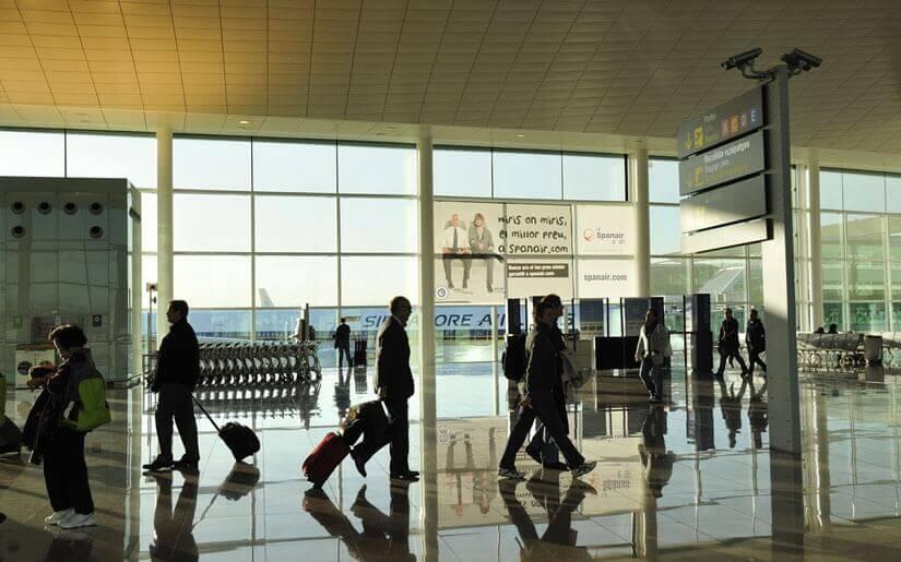 שדה התעופה אל פראט (El Prat) בברצלונה